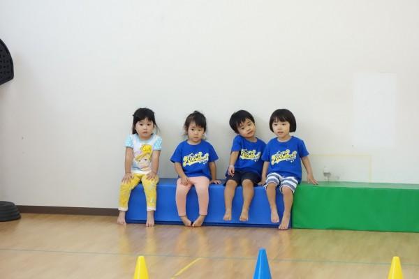 2歳半からの体育クラス