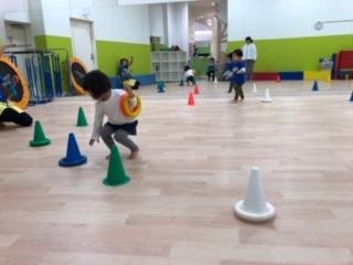 考える力を習得!2歳半からの体育クラス