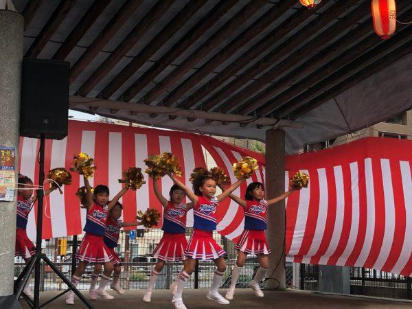 地域も盛り上げます!姪浜商店街夏祭り