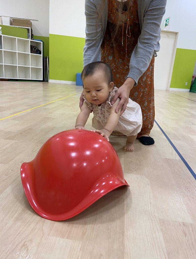 ママもすっきり★おすわり期ベビーから参加できる「発達を促す」ベビーファニットクラス