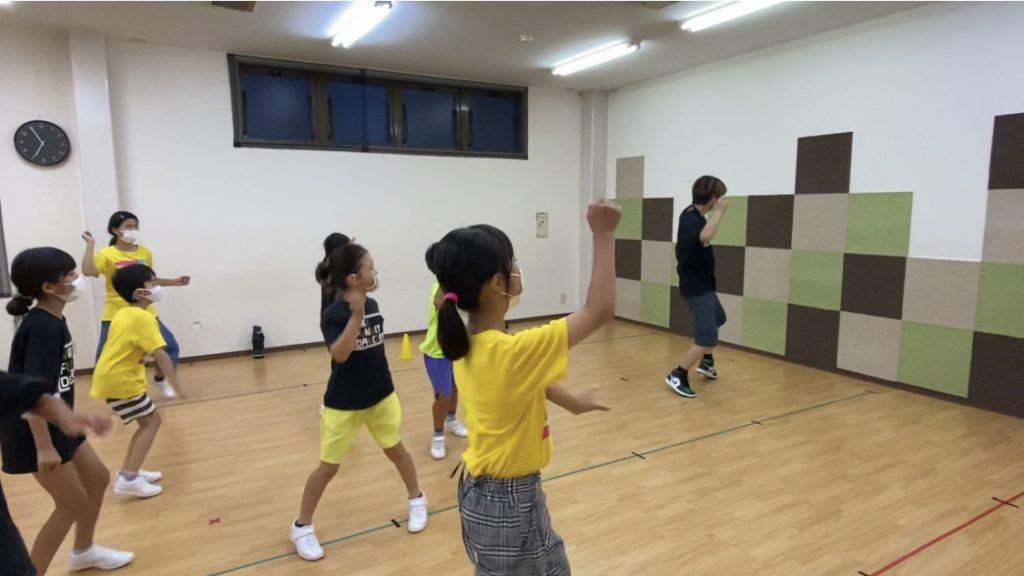 フォーメーション練習が始まりました!西校(水)ヒップホップ中級クラス☆