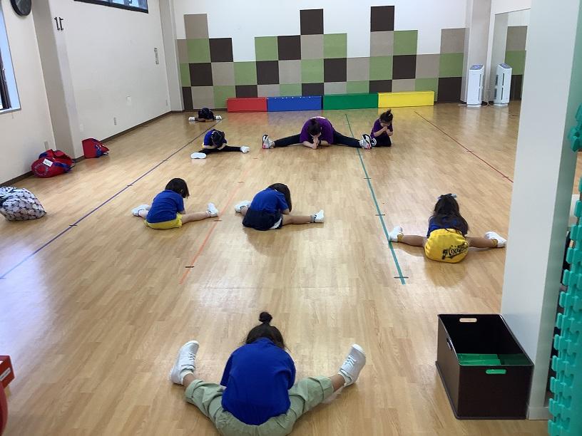 運動の基礎を身につける!2歳半からのチアホップクラス