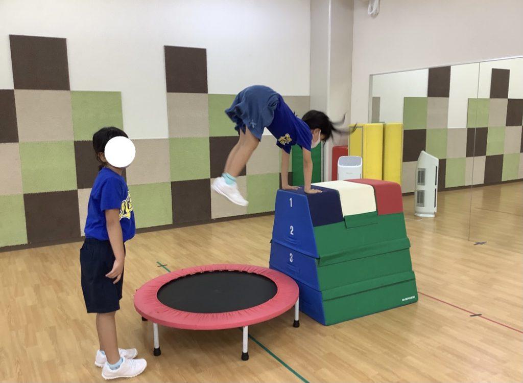 チアダンスに必要なこと…まずは基礎から鍛えます!西校(木)チアジャンプ