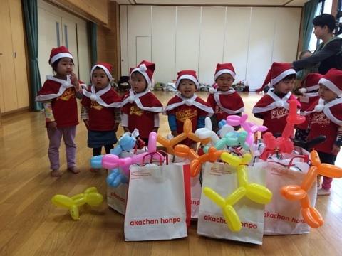 ☆子サンタがたくさん!内浜親子DEリトミッククリスマス会☆