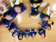 2歳半からのチアダンスクラス☆