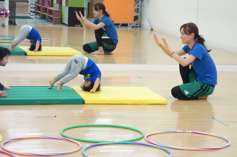 体育クラス体験会報告☆